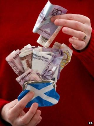 Scottish notes