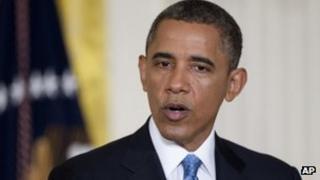 President Barack Obama file picture 14 January 2013