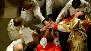 Ordination of female priest