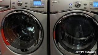 Whirlpool washing machines