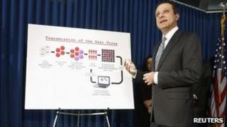 US Attorney Preet Bharara explains how the scheme worked. Photo: 23 January 2013