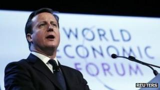 David Cameron at World Economic Forum