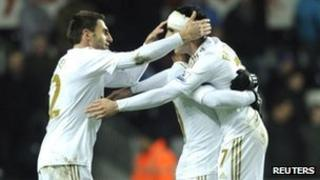 Swansea reached the final by beating Chelsea