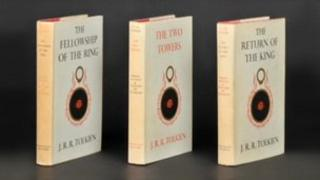 First edition of The Lord of the Rings Trilogy