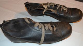Stanley Matthews boots