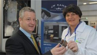 Arlene Foster and Damian McArdle
