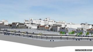 Plan for Snow Hill car park