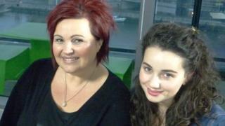 Lisa and Talia