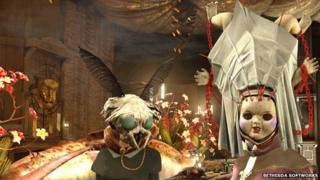 Screenshot from Dishonoured