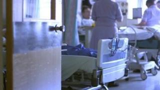 Stafford Hospital ward