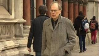 Tony Bennett arrives at the High Court