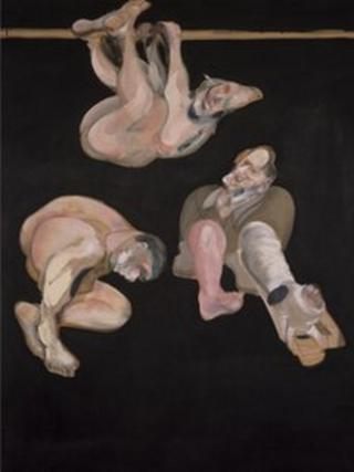 Francis Bacon's Three Studies from the Human Body