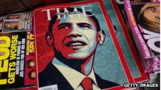 Time magazine's famous Obama front cover