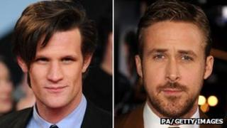 Matt Smith and Ryan Gosling