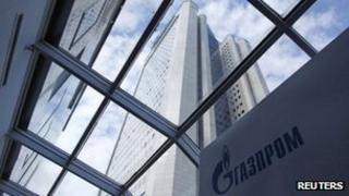Gazprom headquarters in Moscow, January 2013