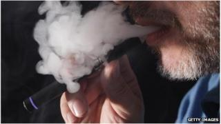 An electronic cigarette