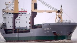 Esther C cargo ship