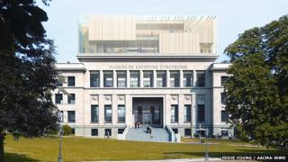 Artist impression of the House of European History