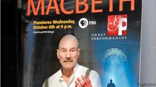 Patrick Stewart in Macbeth