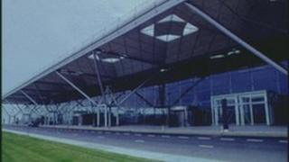 Stansted Airport exterior