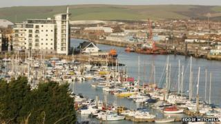 Newhaven in East Sussex