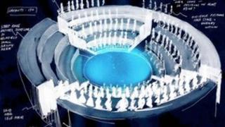 Artist's impression of the Roundabout Auditorium