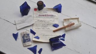 Curson Lodge bottle/time capsule