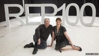Stuart Rogers (left), executive director, and Roxana Silbert (right), artistic director of Birmingham Repertory Theatre