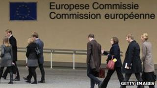 EU Commission in Brussels - Berlaymont building