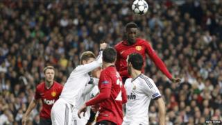 Welbeck scores against Real Madrid