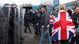 Loyalist protest