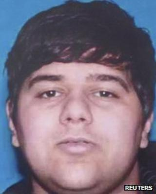 Ali Syed is pictured in this Orange County Sheriff Department handout photo