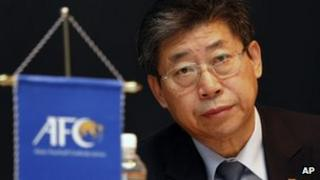 Acting head of Asian Football Confederation Zhang Jilong in Kuala Lumpur (20 Feb 2013)