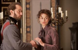Jude Law and Keira Knightley in Anna Karenina