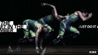 """Nike """"I am the bullet in the chamber"""" ad campaign"""