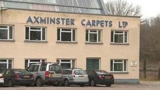 Axminster Carpets factory