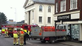 Castle Street crash