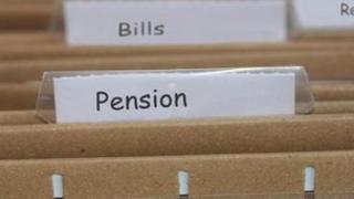 Pension file