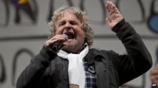 Beppo Grillo (22 February 2013)