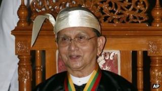 File photo: Burma's President Thein Sein