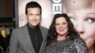 Jason Bateman and Melissa McCarthy