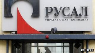 Rusal office (file pic)