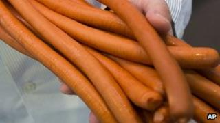 Sausages (file image)