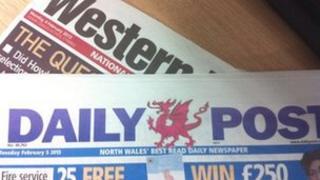 Y Western Mail a'r Daily Post