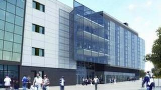 An artist's impression of the new Centre for Experimental Medicine