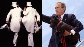 Morecambe and Wise; George W Bush and his dog Barney
