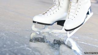Ice skaters