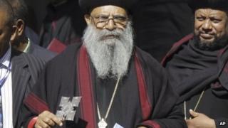 New leader of The Ethiopian Orthodox Church Abune Mathias