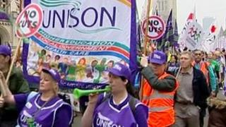 Union day of action in March 2011
