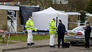 Scene of Westerdale investigation